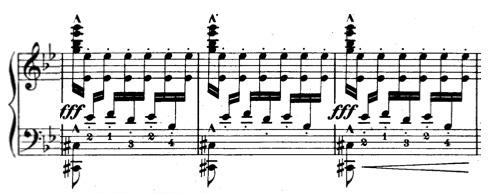Albeniz bars 37-39