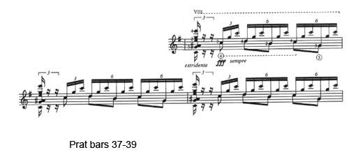 Prat bars 37-39
