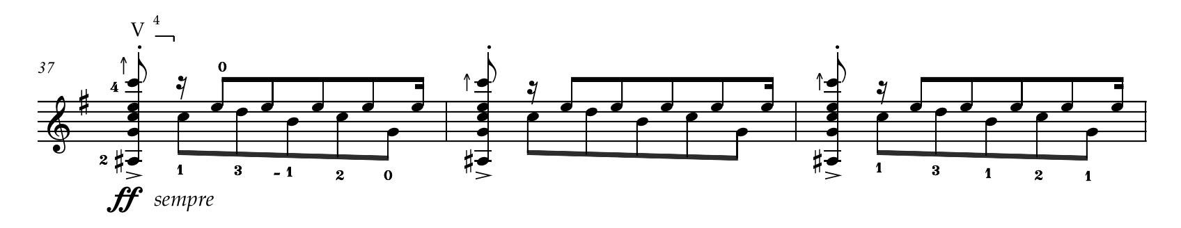 Yates bars 37-39